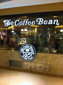シンガポールのThe Coffee Bean & Tea Leaf