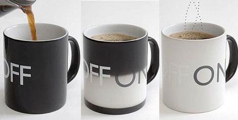 見ただけで温度が分かるマグカップのイメージ画像