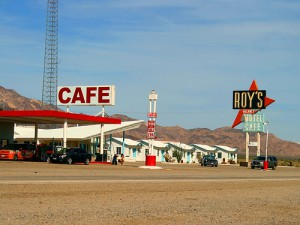Motel and Cafe