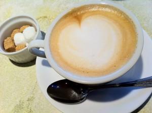 FUNGOのカフェラテ