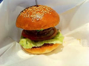 FUNGOのミニハンバーガー