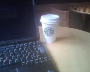 スターバックスとインターネットのイメージ画像