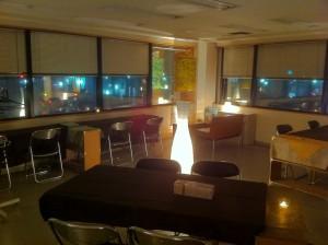 cafeトキワ荘の内装