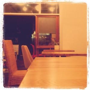 代官山カフェ「cafeトキワ荘」店内2
